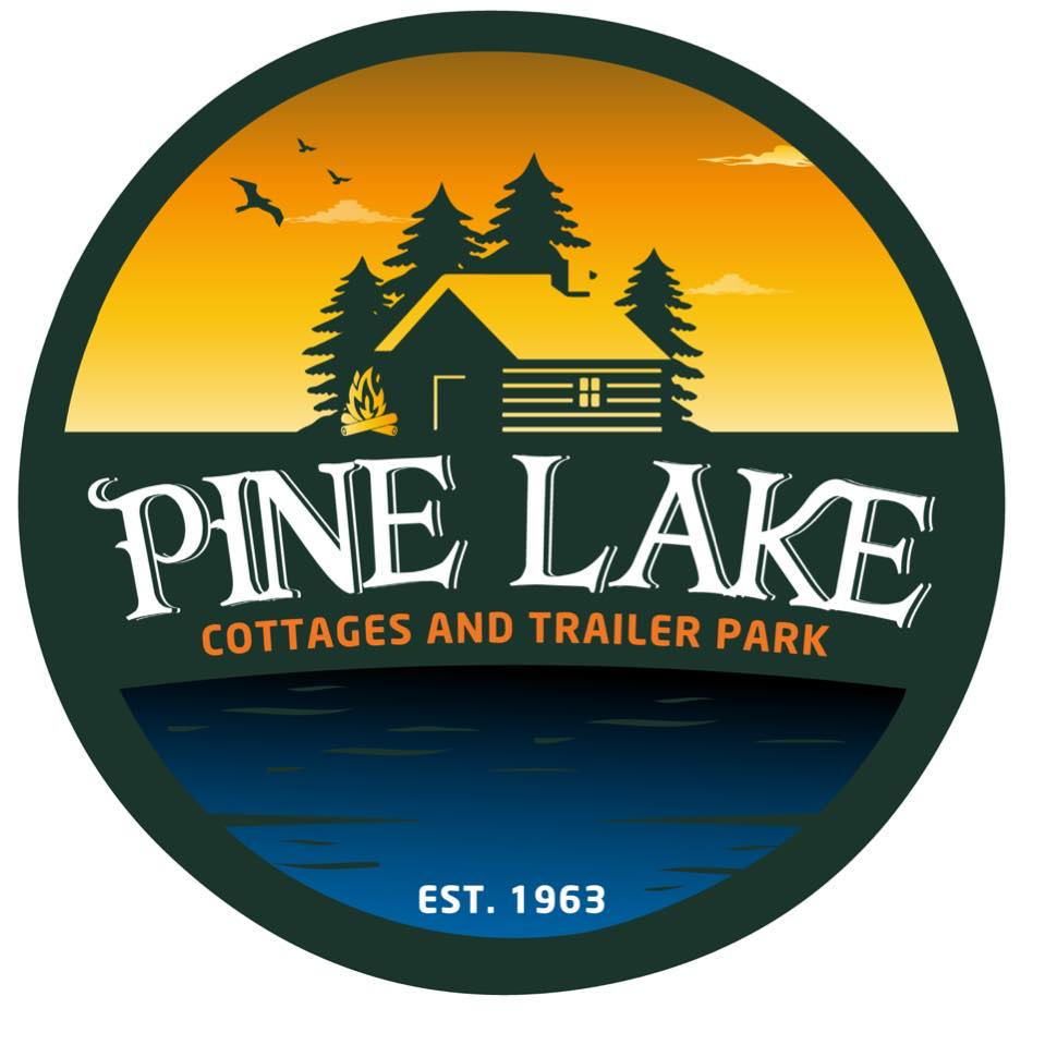 Pine Lake Cottages and Trailer Park logo