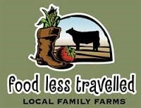 Food Less Travelled | Local Family Farms logo